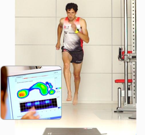 estudio biomecánico de carrera